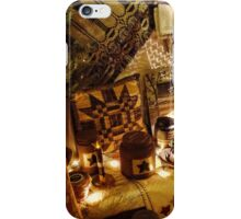 Country Christmas Crafts 4 iPhone Case/Skin