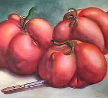 Deformed Tomatoes by Randy  Burns