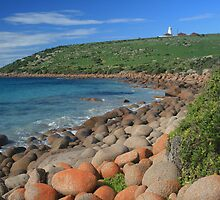 View to Cape Willoughby Lightstation  by Jade Welch