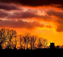 Barrow upon Humber Church at Sunset by Lee Wilson