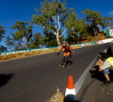 Inline Speed Skater by Bill Fonseca