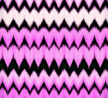 Heart chevron by atlasartsn