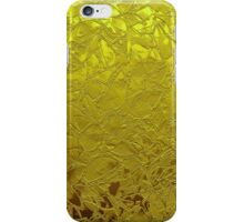 Metal Grunge Relief Floral Abstract iPhone Case/Skin