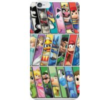 Super Smash Bros. 4 Characters iPhone Case/Skin