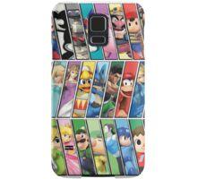 Super Smash Bros. 4 Characters Samsung Galaxy Case/Skin