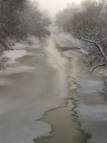 Vermillion River by Dawne Olson