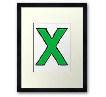 Ed Sheeran Multiply Framed Print