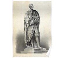 Statue of Isaac Newton Poster