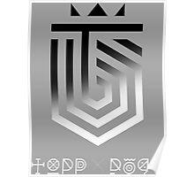Topp Dogg Logo - Fade Poster