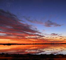 Sunset Over Salk Lakes... by Andre Wenham
