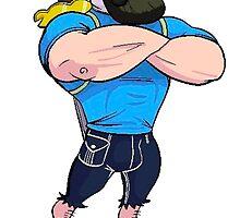 Adventure Time: Finn bearded by Baipodo