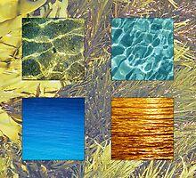 Four colours blue by Travis Easton