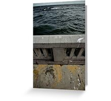 """Sea (from the """"We win"""" series) Greeting Card"""