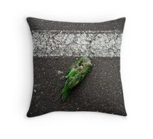 """Bird (from the """"We win"""" series) Throw Pillow"""