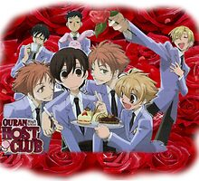 Ouran Cast by Jitter4528