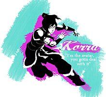Avatar Korra by Alysha .