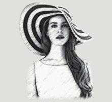 Lana Del Rey by Soul-Scribbles