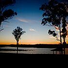 Sunset Dam by Alecia Scott