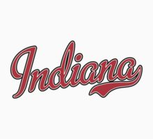 Indiana Script Red by USAswagg
