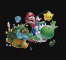 Mario & Yoshi by Laredj