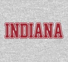 Indiana Jersey Red by USAswagg