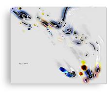 Genetic improvisation Canvas Print