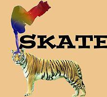 Skate Tiger by giuseppesloan