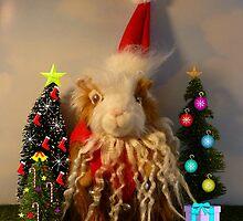 Rhino's Excellent Christmas by WildestArt