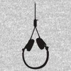 Noosephones (black) by yourscenesucks
