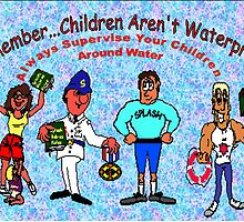 Children Aren't Water-Proof by WhiteDove Studio kj gordon