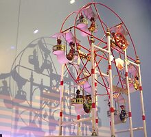 Vintage Toy Ferris Wheel, Jerni Collection, New York Historical Society, New York City by lenspiro