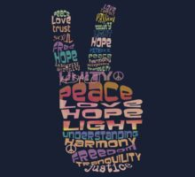 Peace tshirts Kids Clothes
