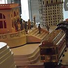 Model Lionel Trains, Model Lionel Buildings, New York Historical Society, New York City by lenspiro