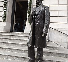 Abraham Lincoln Statue, New York Historical Society, New York City by lenspiro