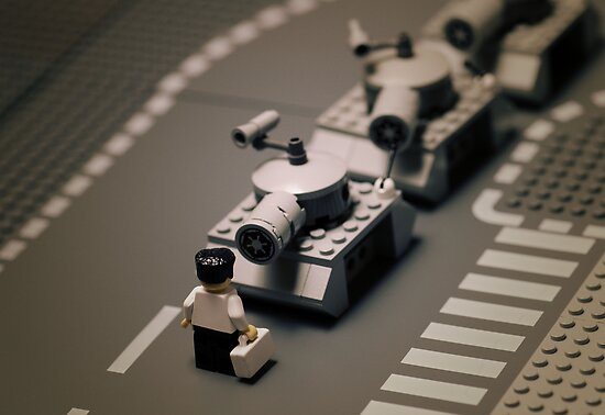 Tiananmen Square by Mike Stimpson