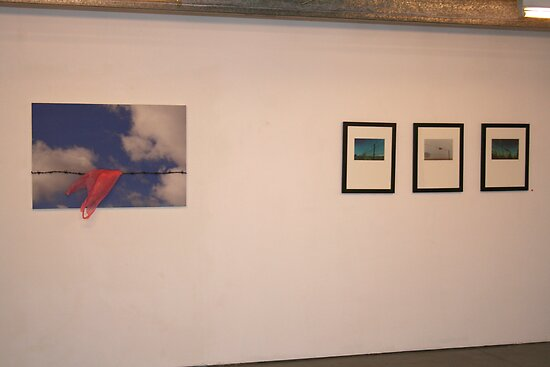 My Solo Exhibition Wall 2 by Alice Dunn