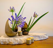 Ikebana Flower Arrangement Photo by Alexander Evans