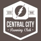 The Flash - Central City Running Club White by garywithrow