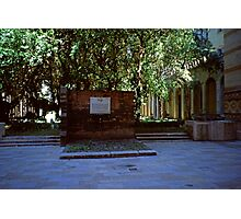 Memorial & Cemetary, Great Synagogue, Budapest Photographic Print