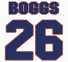 National baseball player Wade Boggs jersey 26 by imsport