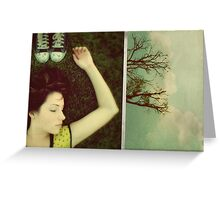 Don't dream it's over. Greeting Card