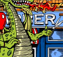 Dragon Barber Sticker