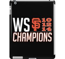 The Champs iPad Case/Skin