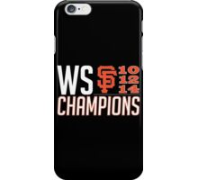 The Champs iPhone Case/Skin