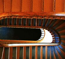 Old Courthouse Stairwell by rdotter