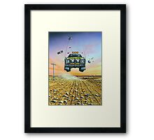 Are We There Yet - Feral Ute Framed Print