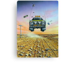 Are We There Yet - Feral Ute Canvas Print