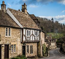 The Village of Castle Combe #2 by Nicole Petegorsky