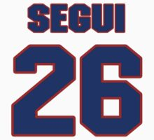 National baseball player Diego Segui jersey 26 by imsport