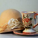 Cup &amp; Hat by Mariann Kovats